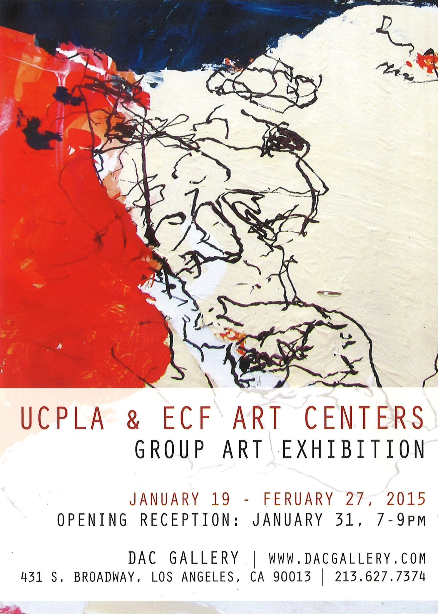 UCPLA & ECF Art Centers Group Art Exhibition