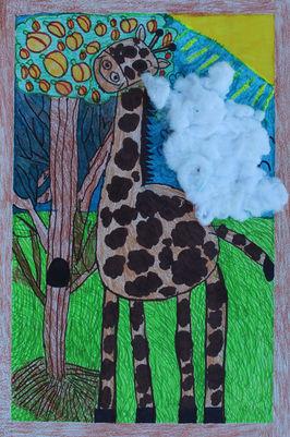 The Giraffe From Africa