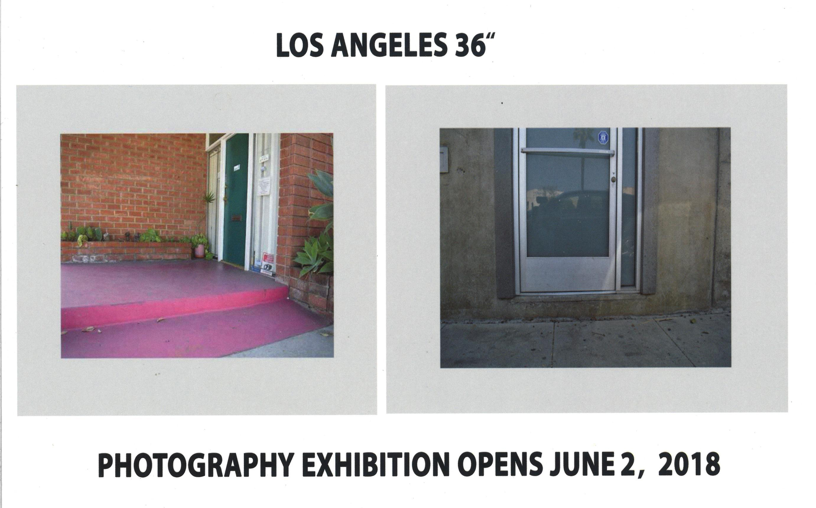 "Los Angeles 36"": Photography Exhibition"