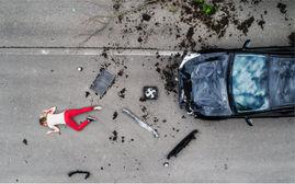 Unfall Drohne Dortmund Gutachten sofort Luftbild NRW