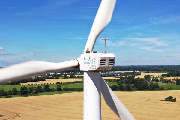 Windkraftanlage Drohne Inspektion Drone-Experts
