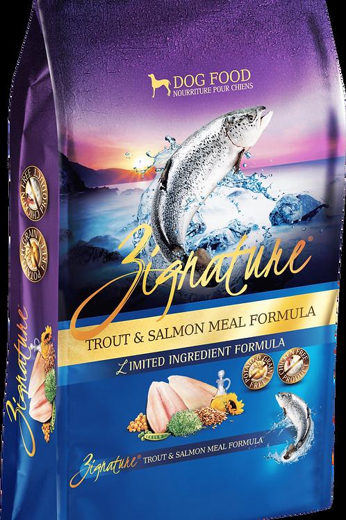 Zignature Trout & Salmon Meal Formula Dog Food