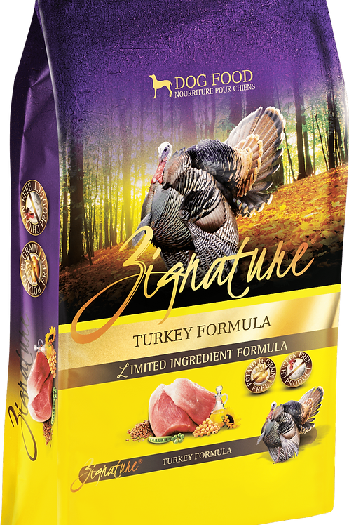 Zignature Turkey Formula Dog Food