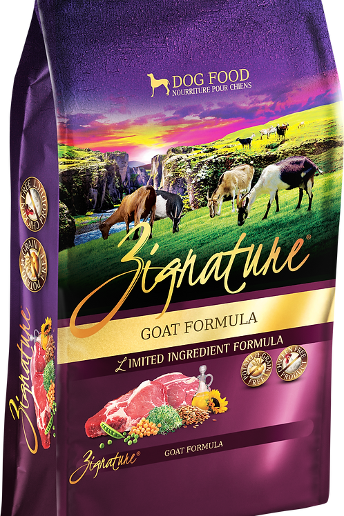 Zignature Goat Formula Dog Food