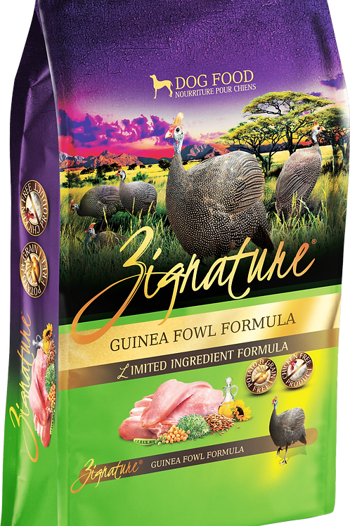 Zignature Guinea Fowl Formula Dog Food