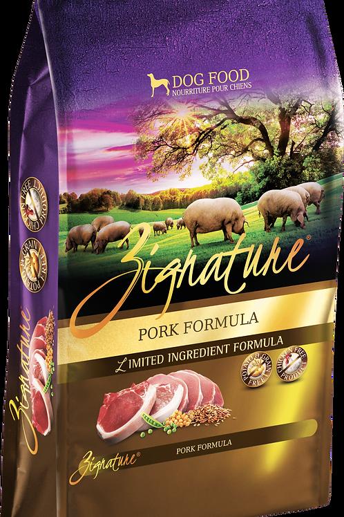 Zignature Pork Formula Dog Food