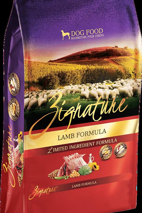 Zignature Lamb Formula Dog Food