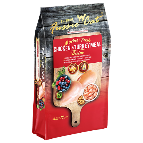 Fussie Cat Market Fresh Chicken & Turkey Formula