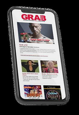 grab magazine email