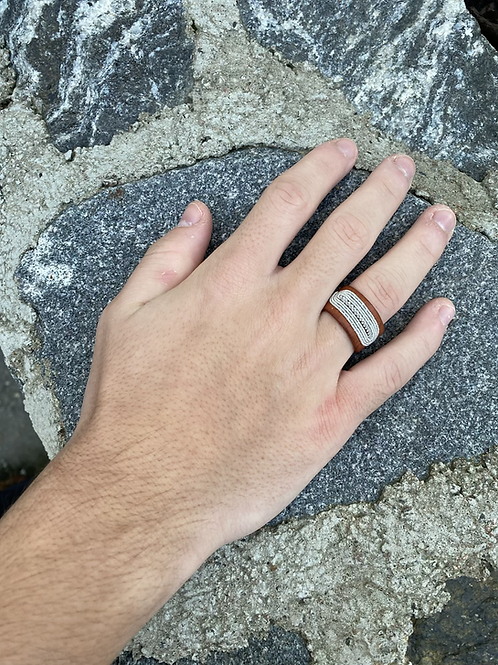 Men's collection Ring - Duvvege