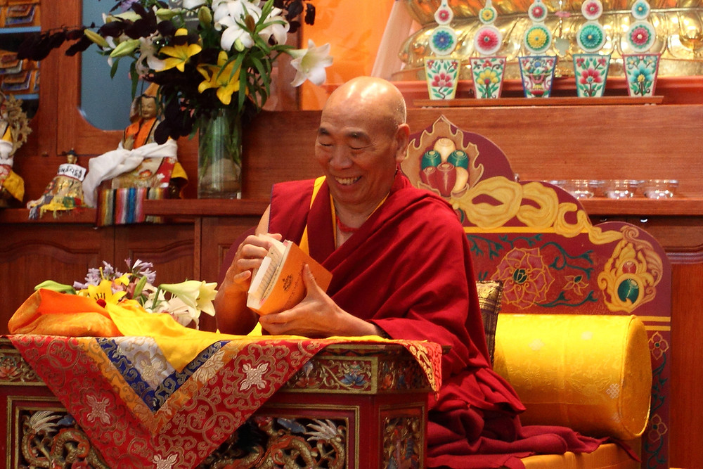 Venerable Geshe Doga