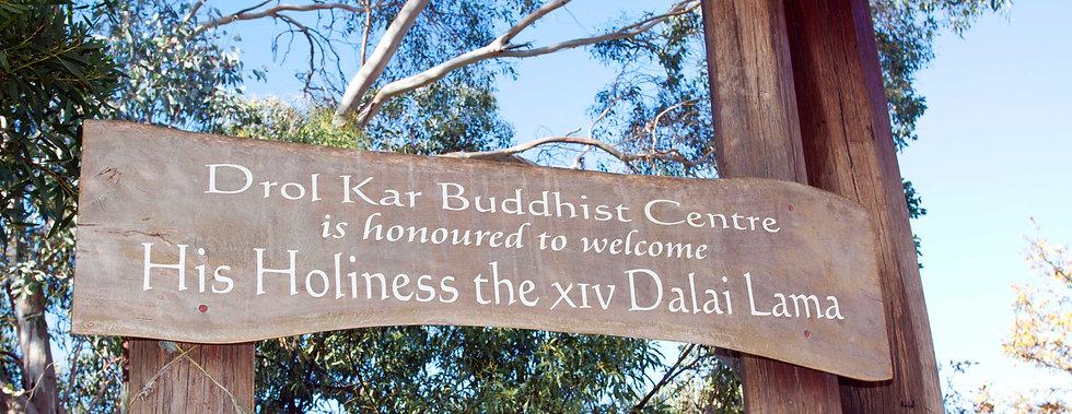 Drol Kar Buddhist Centre welcomes HH Dalia Lama.jpg