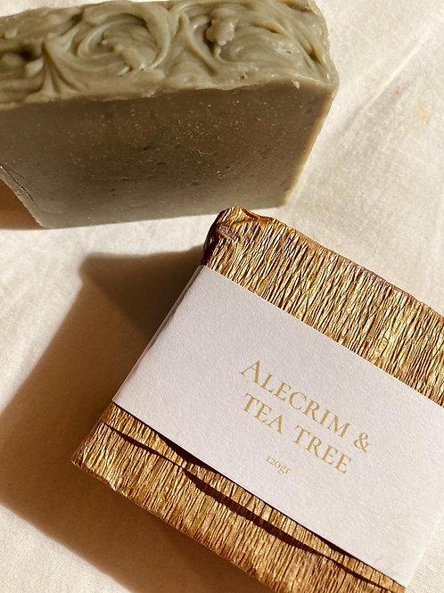 Sabonete Natural de Alecrim & Tea tree