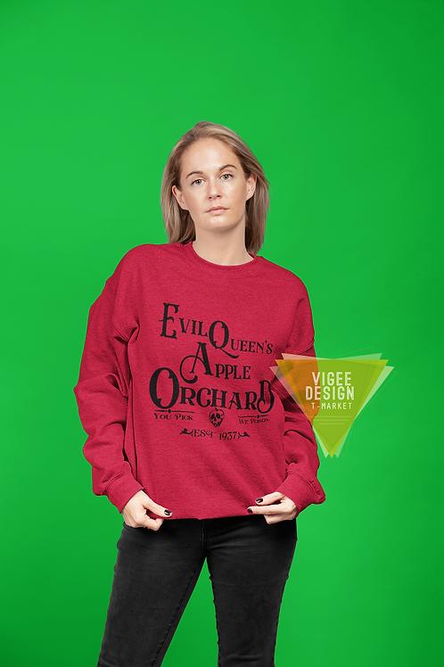 Evil Queens Apple Orchard Basic Unisex Sweatshirt