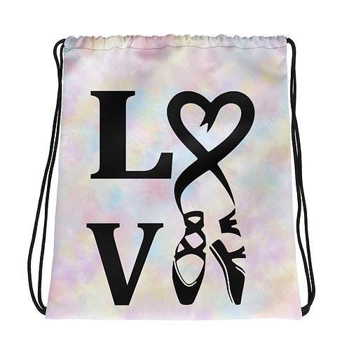 Ballet LOVE - Drawstring bag