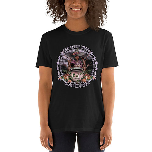 Not Every Witch - Black Chocolate - Short-Sleeve Unisex T-Shirt