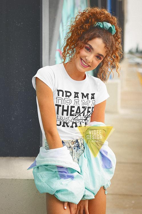 Drama Theater Life Basic Short-Sleeve Unisex T-Shirt