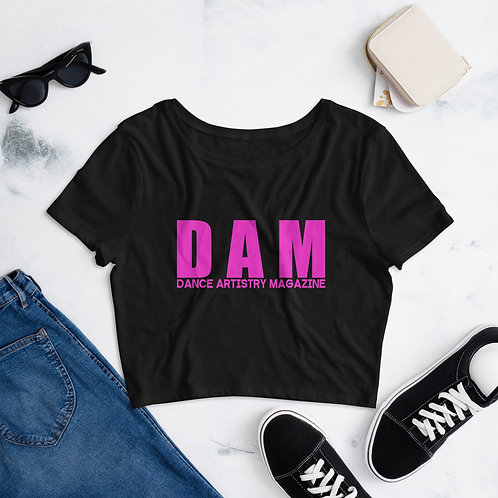 DAM | dance artistry magazine official - Women's Crop Tee