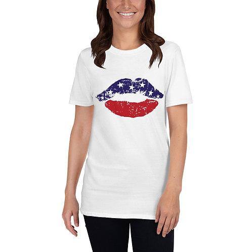 American Kiss - Short-Sleeve Unisex T-Shirt