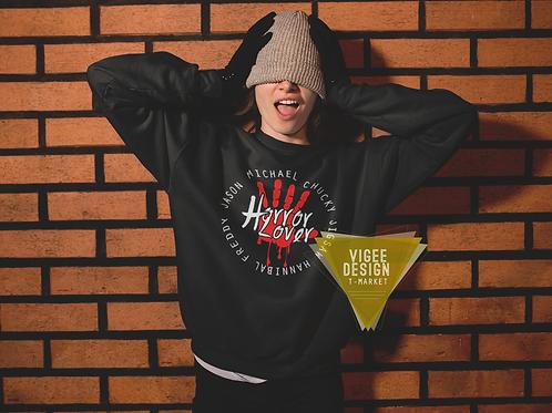 Horror Lover - Unisex fleece sweatshirt