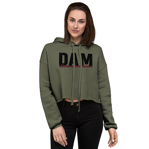 Official DAM Show us your Dance- Crop Hoodie