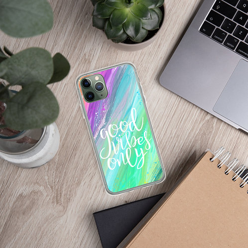 Good Vibes Only - iPhone Case