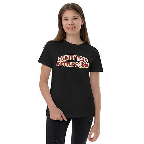 Country Road Kettle Corn What Poppin - Youth jersey t-shirt