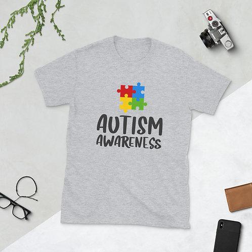 Autism Awareness - Short-Sleeve Unisex T-Shirt