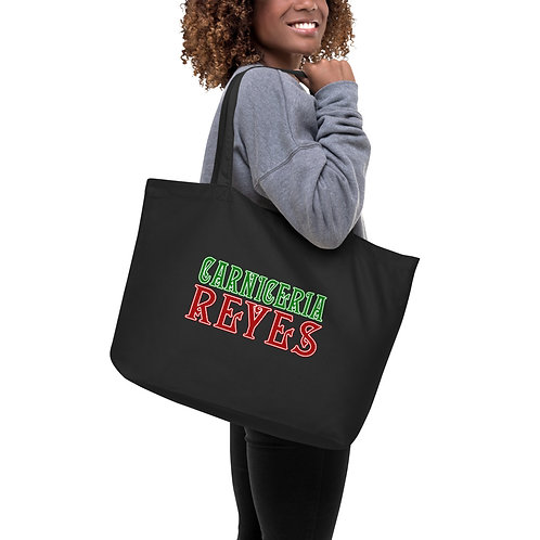 Caniceria Reyes - Large organic tote bag