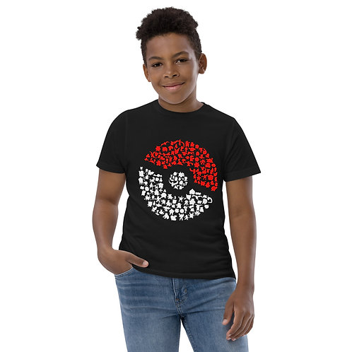 Silhouette Character Ball - Youth jersey t-shirt