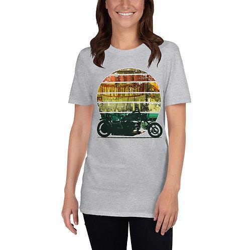 Vintage Sunrise Welcome to Santo Padre Basic Short-Sleeve Unisex T-Shirt