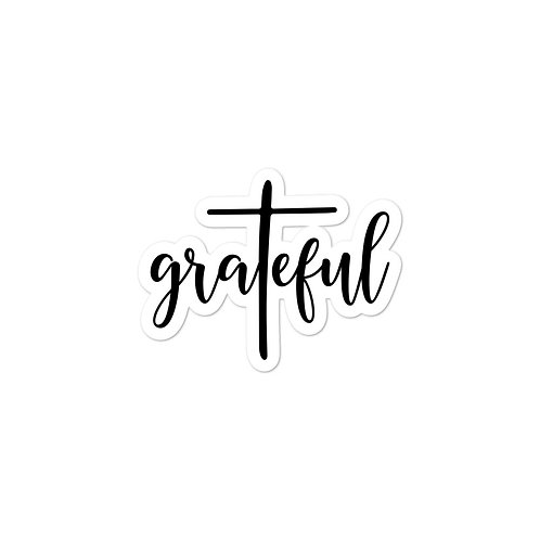 GraTeful - Bubble-free stickers