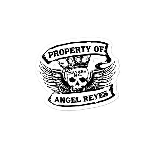Property Of Angel - Bubble-free stickers