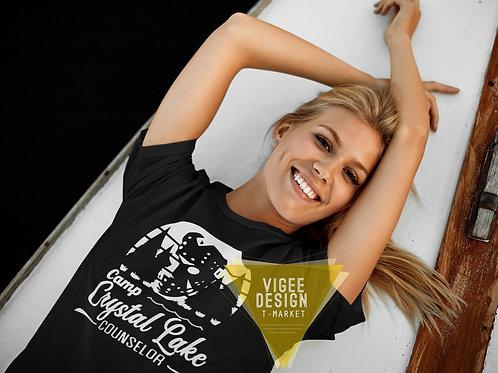 Camp Crystal Lake Couselor - Basic Short-Sleeve Unisex T-Shirt