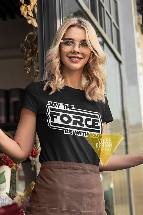 May the Force - Short-Sleeve Unisex T-Shirt