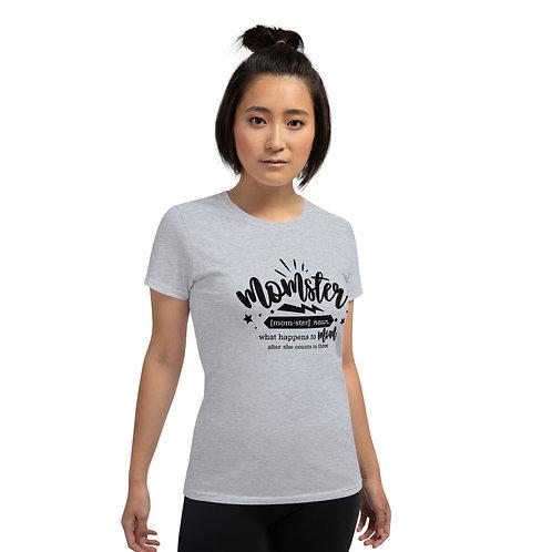 Momster - Women's short sleeve t-shirt
