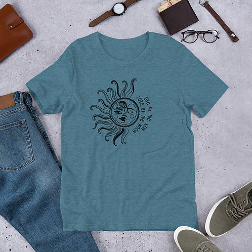 Live by the Sun, Love by the Moon - Short-Sleeve Unisex T-Shirt