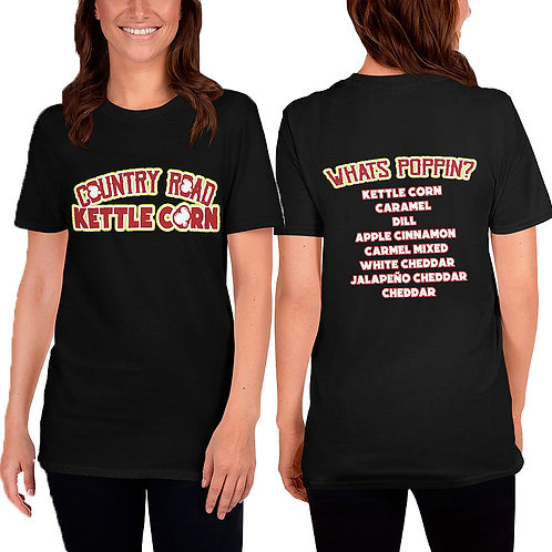 Country Road Kettle Corn Whats Poppin - Short-Sleeve Unisex T-Shirt