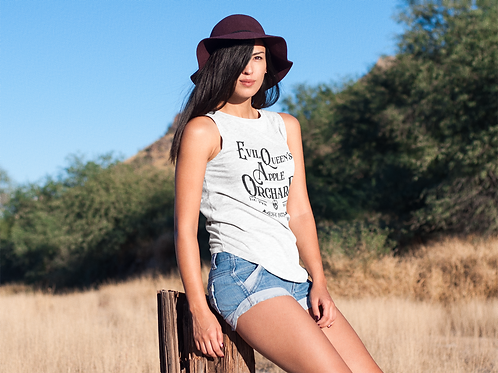 Evil Queens Apple Orchard Ladies' Muscle Tank