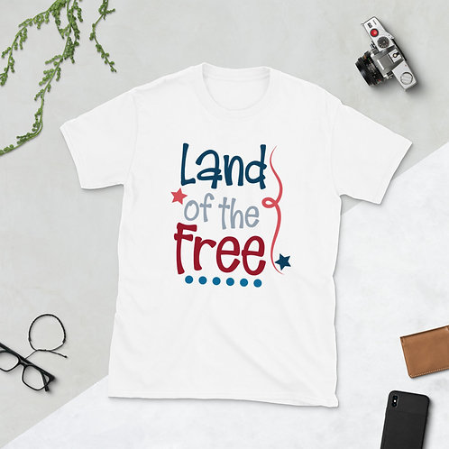 Land of the Free - Short-Sleeve Unisex T-Shirt