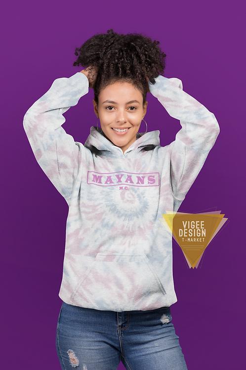 Mayans MC Pink Tie Dye Unisex Hoodie