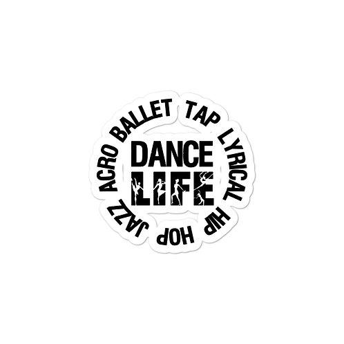 Dance Life Circle - Bubble-free stickers