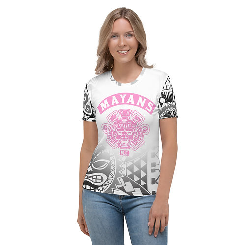 Pink Mayans Aztec - Women's T-shirt