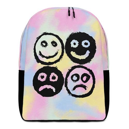 Grunge Feels - Face Minimalist Backpack