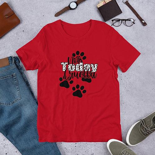 Not Today Cruella - Short-Sleeve Unisex T-Shirt