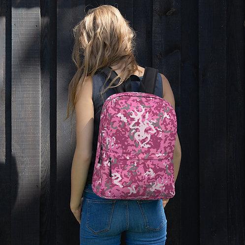Exclusive ** Pink Camo My Deer My Heart - Backpack