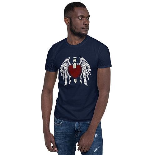 Broken Heart Wings - Short-Sleeve Unisex T-Shirt