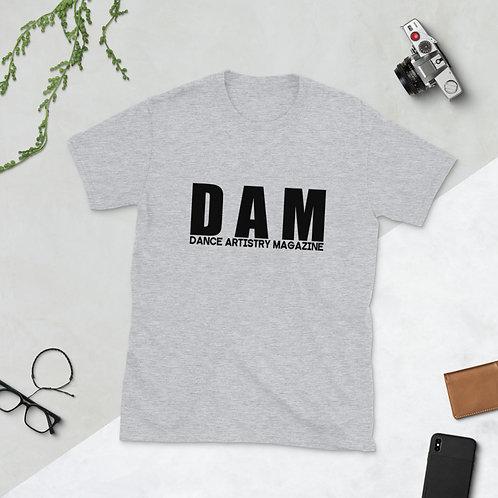 DAM | dance artistry magazine official - Short-Sleeve Unisex T-Shirt