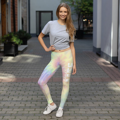Dance Life Tie Dye Leggings