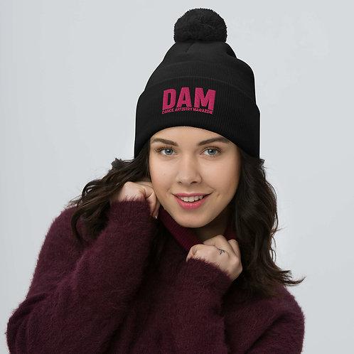 DAM   dance artistry magazine official - Pom-Pom Beanie